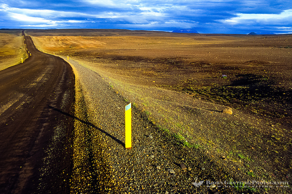 Iceland. Along the road between Husavik and Reykjahlid.