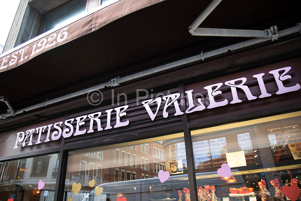 Patisserie Valerie shop front in London, United Kingdom. Patisserie Valerie is a chain of cafés that operates in the United Kingdom. The chain specialises in cakes, and its menu included continental breakfasts, lunches and teas and coffees. The company went into administration in January 2019, prior to a management buyout funded by Causeway Capital Partners.