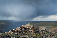 Storm over Beartooth Mountains Montana