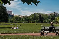 Le parc de la Tete d'Or