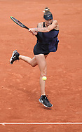 Polona Hercog of Slovenia during day 4 of the French Open 2021, Grand Slam tennis tournament on June 2, 2021 at Roland-Garros stadium in Paris, France - Photo Jean Catuffe / ProSportsImages / DPPI