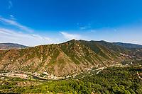 landscape panorama near Sanahin landmark of Lorri Armenia eastern Europe