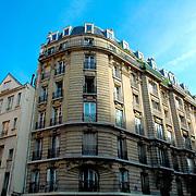 Parisian building facade