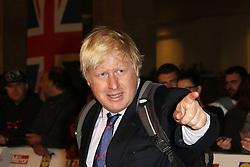 Boris Johnson, Pride of Britain Awards, Grosvenor House Hotel, London UK. 28 September, Photo by Richard Goldschmidt /LNP © London News Pictures