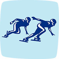OLYMPIC GAMES VANCOUVER 2010 - VANCOUVER (CAN) - PHOTO : VANOC/COVAN / DPPI<br /> PICTOGRAMS - SHORT TRACK