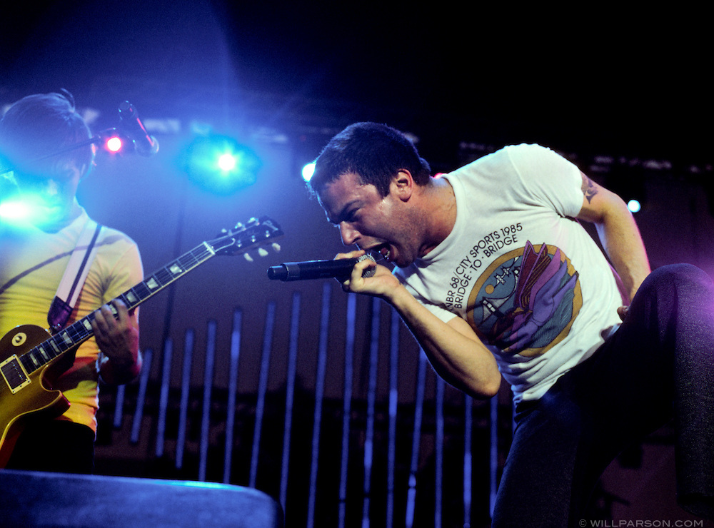 Say Anything at the 2008 Sun God Festival.
