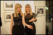 KATE BOENIGK; SOPHIE MAY, Private view for Senna: Photographs by Keith Sutton Proud Chelsea www.proud.co.uk.<br /> , London.  5th March 2014
