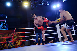 August 27, 2017 - Shanghai, Shanghai, China - Shanghai, CHINA-27th August 2017: (EDITORIAL USE ONLY. CHINA OUT)..The 'Turkey' Boxing Contest is held in Shanghai, August 27th, 2017. (Credit Image: © SIPA Asia via ZUMA Wire)