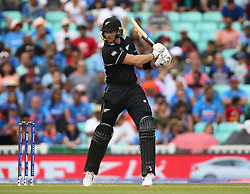 New Zealand's Martin Guptill during the ICC Cricket World Cup Warm up match at The Oval, London.