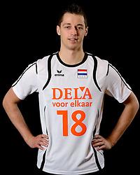 25-04-2013 VOLLEYBAL: NEDERLANDS MANNEN VOLLEYBALTEAM: ROTTERDAM<br /> Selectie Oranje mannen seizoen 2013-2014 / Robbert Andringa<br /> ©2013-FotoHoogendoorn.nl