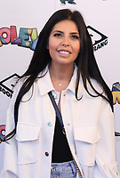"""Cara Delahoyde-Massey   at the """"Moley"""" premiere, Leicester Square, London, Location, London, UK - 25 Sep 2021 photo by Roger Alacron"""