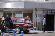 MADRID, SPAIN, 2016, SEPTEMBER FIRST <br /> <br /> Princess Elena has already left the hospital after being admitted the day before because of a fall from his horse while he was training at the Zarzuela racecourse. The eldest daughter of King Juan Carlos and Sofia suffered a fall when he was practicing some jumping jacks. After being examined by the medical team of the Royal House who appreciated damaged a wrist moving to the Ruber clinic was decided<br /> ©Exclusivepix Media