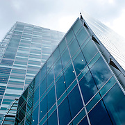Low angle view office buildings
