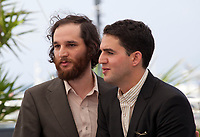 Co-directors Joshua Safdie and Ben Safdie Good Time film photo call at the 70th Cannes Film Festival Thursday 25th May 2017, Cannes, France. Photo credit: Doreen Kennedy