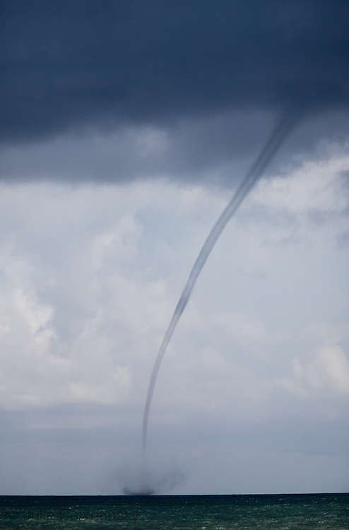 Water spout off the coast of Gulf Shores Alabama