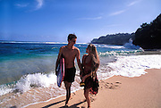 Couple, Hanalei, Kauai, Hawaii<br />