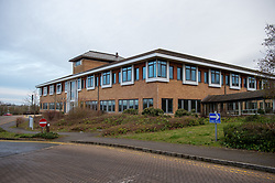 © Licensed to London News Pictures. 08/02/2020. Milton Keynes, UK. Nightingale House at the Kents Hill Park Training and Conference Centre. A Milton Keynes conference centre is to house evacuees from the Chinese city of Wuhan, the epicentre of the Novel Coronavirus (2019-nCoV) outbreak, the British citizens are due to be flown back on Sunday 9th February and are expected to land at RAF Brize Norton in Oxfordshire and will remain at the Kents Hill Park Training and Conference Centre for 14 days to be monitored. Photo credit: Peter Manning/LNP