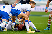 Marcello Violi (Italy) during the Autumn Nations Cup, rugby union Test match between Italy and Scotland on November 14, 2020 at the Artemio Franchi stadium in Florence, Italy - Photo Ettore Griffoni / LM / ProSportsImages / DPPI