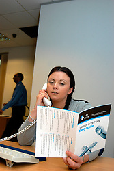 Domestic violence helpline run by Bradford Council for the Safer Communities Parnership; West Yorkshire UK