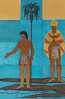 Hawaiian mural projects are usually events to promote cultural preservation, arts education and community building. Local artists  have created many large scale murals focusing on Hawaiian legends that explore stories of place as well as Hawaiian cultural and historical heritage.
