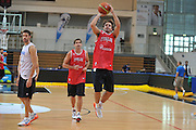 DESCRIZIONE : Trento Primo Trentino Basket Cup Nazionale Italia Maschile <br /> GIOCATORE : Daniele Cavaliero<br /> CATEGORIA : allenamento<br /> SQUADRA : Nazionale Italia <br /> EVENTO :  Trento Primo Trentino Basket Cup<br /> GARA : Allenamento<br /> DATA : 25/07/2012 <br /> SPORT : Pallacanestro<br /> AUTORE : Agenzia Ciamillo-Castoria/M.Gregolin<br /> Galleria : FIP Nazionali 2012<br /> Fotonotizia : Trento Primo Trentino Basket Cup Nazionale Italia Maschile<br /> Predefinita :