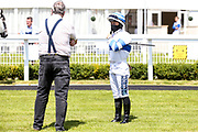 Jockey Nicola Currie - Mandatory by-line: Robbie Stephenson/JMP - 22/07/2020 - HORSE RACING - Bath Racecoure - Bath, England - Bath Races