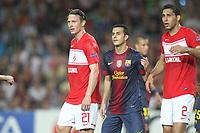 FOOTBALL - UEFA CHAMPIONS LEAGUE 2012/2013 - GROUP STAGE - GROUP G - FC BARCELONA v SPARTAK MOSCOW - 19/09/2012 - PHOTO MANUEL BLONDEAU / AOP PRESS / DPPI - KIM KALLSTROM