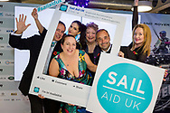 Trustees at the Sail Aid UK charity dinner this evening at Land Rover BAR in Portsmouth, the home of Sir Ben Ainslie's America's Cup team. The Sail Aid UK charity was created following the devastating hurricanes that struck the Caribbean in September this year. Their mission is to help those Islands and their communities that were so tragically affected by the hurricanes to rebuild, restore, and regenerate their communities, be it through educational, health and welfare, building, or tourism promotion projects.<br /> Picture date: Saturday November 11, 2017.<br /> Photograph by Christopher Ison ©<br /> 07544044177<br /> chris@christopherison.com<br /> www.christopherison.com
