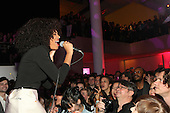 Solange Knowles performs at the Armory Party held at MoMA in New York City