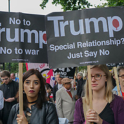 Protest: No Nuclear War, Downing Street, London
