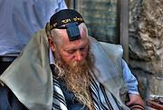 Jewish Man with Tallith and Tfelin