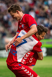 12-05-2018 NED: FC Utrecht - Heerenveen, Utrecht<br /> FC Utrecht win second match play off with 2-1 against Heerenveen and goes to the final play off / Rico Strieder #6 of FC Utrecht score the 1-0, Lukas Gortler #27 of FC Utrecht