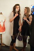 ALEX WILSON; LEO FINDLATER, Maison Triumph launch to celebrate the beginning of London fashion week. Monmouth St. 14 February 2013.