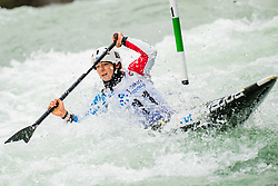 Margaux HENRY (FRA) during Canoe Semi Finals at World Cup Tacen, 18 October 2020, Tacen, Ljubljana Slovenia. Photo by Grega Valancic / Sportida