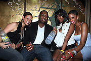 l to r: Jasmine Franjel , Chauncy Hamlett, Briana Bigham and Shante Timberlake at ' Rising Icons ' featuring The Dream presented by Grey Goose, Complex Magazine & BET held at The Hiro Ballroom on July 30, 2009 in New York City