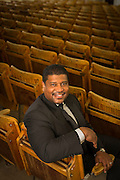 Dr. Damon Williams, Vice Provost and Chief Diversity Officer. (Photo © Andy Manis)