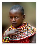 Samburu girl. Samburu National Reserve, Kenya.  Nikon D4, 200-400mm @ 270mm, f4, 1/250sec, ISO400, Aperture priority