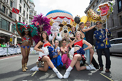 © licensed to London News Pictures. London, UK 12/05/2013. Dancers, cheerleaders and cultural representers posing at The World on Regent Street event in London on Sunday, 12 May 2013. Many countries showcase the best of each country's culture, music and dance, art, food and fashion to Londoners on Regent Street. Photo credit: Tolga Akmen/LNP