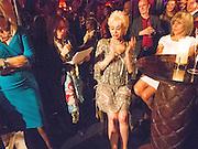SALLY FARMILOE,  My Left Boob: A Cancer Diary by Sally Farmiloe-Neville , Sally Farmiloe - book launch party, Angels, 201 Wardour Street, London, W1F 8ZH