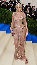 May 1, 2017 - New York, NY, United States - 01 May 2017 - Kylie Jenner. 2017 Metropolitan Museum of Art Costume Institute Benefit Gala at The Metropolitan Museum of Art. Photo Credit: Christopher Smith/AdMedia (Credit Image: © Christopher Smith/AdMedia via ZUMA Wire)