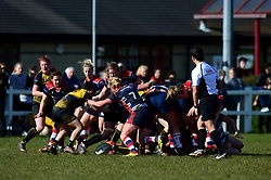 Bristol Ladies in action against Wasps Ladies - Mandatory by-line: Dougie Allward/JMP - 26/03/2017 - RUGBY - Cleve RFC - Bristol, England - Bristol Ladies v Wasps Ladies - RFU Women's Premiership