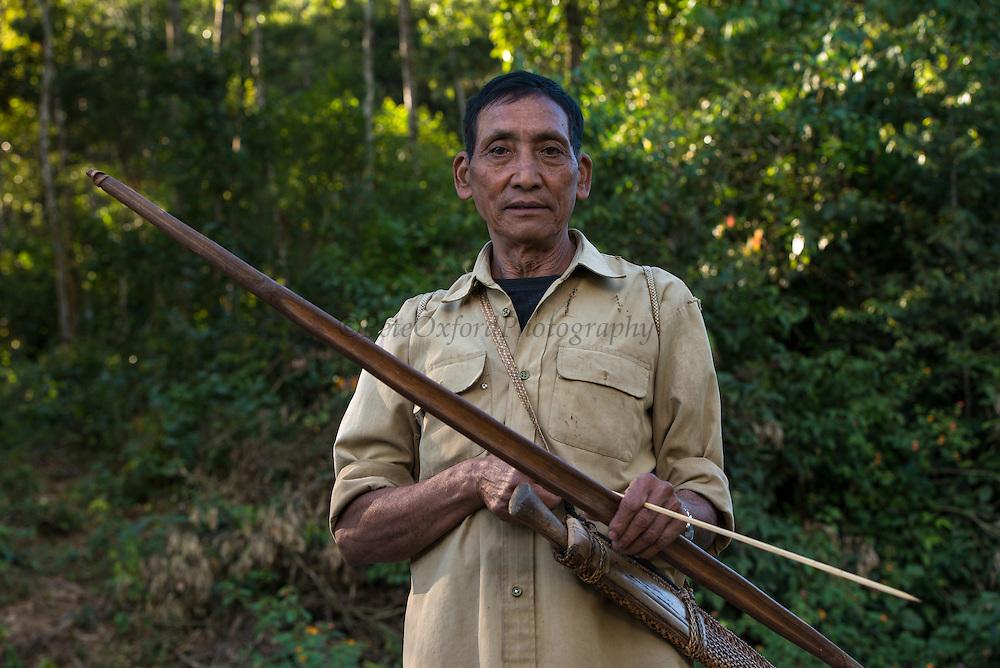 Adi Gallong bow & arrow<br /> Adi Gallong Tribe<br /> Arunachal Pradesh<br /> North East India