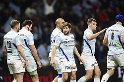 January 19, 2019 - Paris, France, FRANCE - joie des joueurs du RM92 apres l essai de Teddy Iribaren  (Credit Image: © Panoramic via ZUMA Press)
