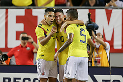 October 11, 2018 - Tampa, FL, United States - Tampa, FL - Thursday October 11, 2018: The men's national teams of the United States (USA) and Colombia (COL) play in an international friendly game at Raymond James Stadium. (Credit Image: © John Dorton/ISIPhotos via ZUMA Wire)