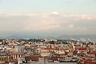 Naples, viewed from Corso Vittorio Emanuele © Rudolf Abraham