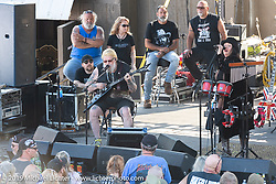 David Allan Coe playing on the main stage at the Iron Horse Saloon during the Daytona Beach Bike Week, FL. USA. Tuesday, March 12, 2019. Photography ©2019 Michael Lichter.