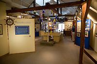 Displays at Connecticut River Museum, Essex, CT