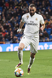 January 24, 2019 - Madrid, Spain - Karim Benzema (forward; Real Madrid) in action during Copa del Rey, Quarter Final match between Real Madrid and Girona FC at Santiago Bernabeu Stadium on January 24, 2019 in Madrid, Spain (Credit Image: © Jack Abuin/ZUMA Wire)