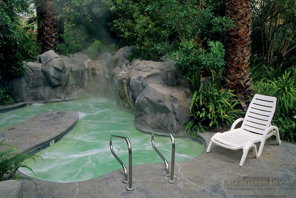 Oasis Spa, Sycamore Springs Resort, near Avila Beach, San Luis Obispo County, California