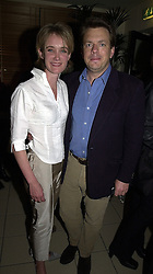 MR & MRS JAMES BAKER, she is tv presenter Anastasia Cooke, at a party in London on 30th March 2000.OCL 19<br /> © Desmond O'Neill Features:- 020 8971 9600<br />    10 Victoria Mews, London.  SW18 3PY<br /> photos@donfeatures.com  www.donfeatures.com<br /> MINIMUM REPRODUCTION FEE AS AGREED.<br /> PHOTOGRAPH BY DOMINIC O'NEILL